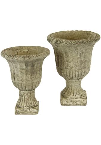 I.GE.A. Übertopf »Antik-Keramikpokal«, (Set, 2 St.) kaufen