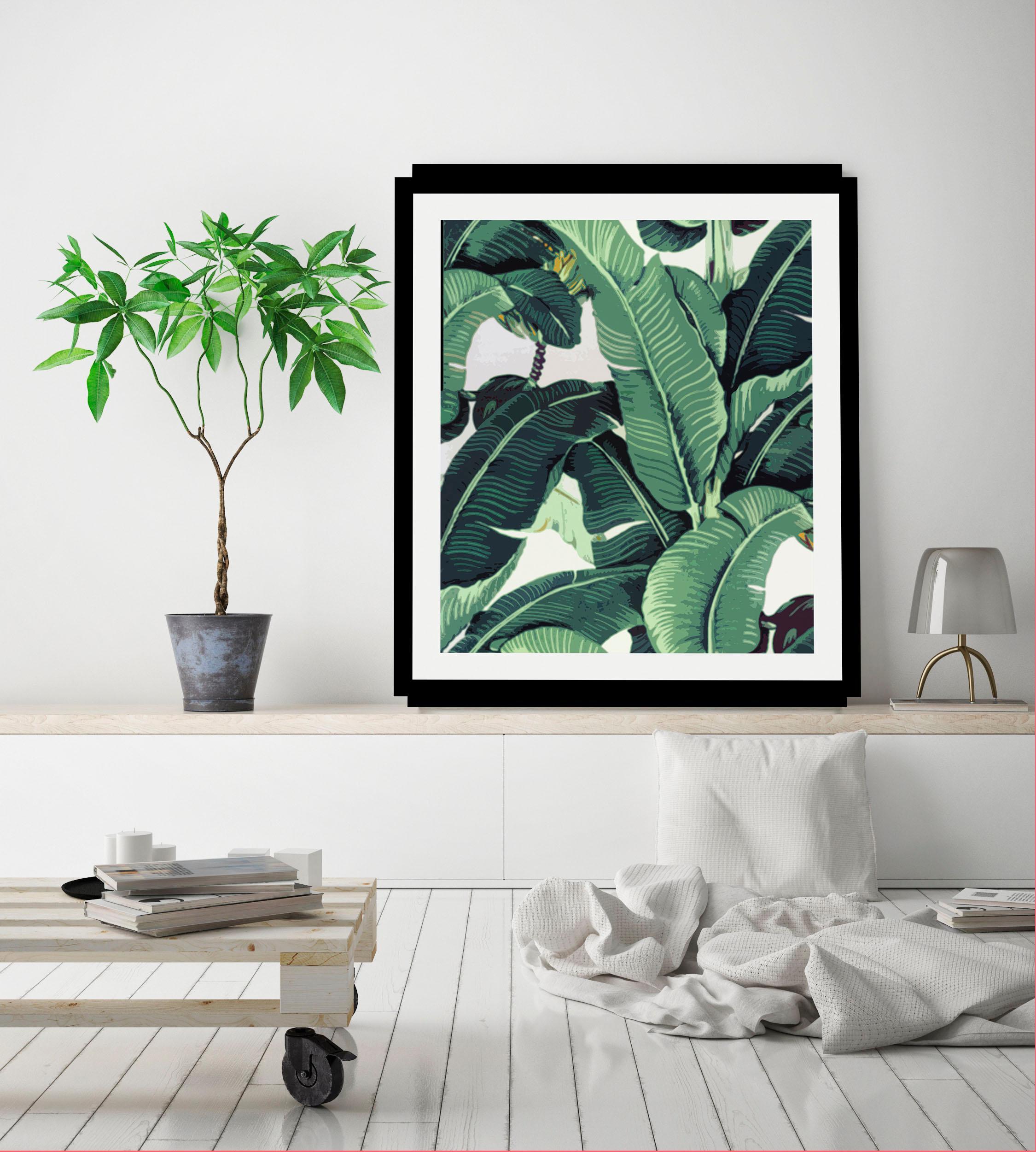 Image of Bild »Blätter«