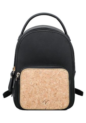 Vleder BAG Cityrucksack »Julia«, mit Reissverschluss-Vortasche, bekannt aus der TV... kaufen