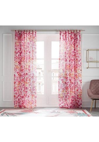 Guido Maria Kretschmer Home&Living Gardine »Love«, transparent, Schlaufen zum Binden,... kaufen