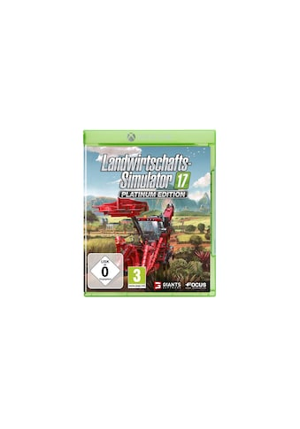 Software Landwirtschafts - Simulator 17, Giants, »Platinum Edition« kaufen