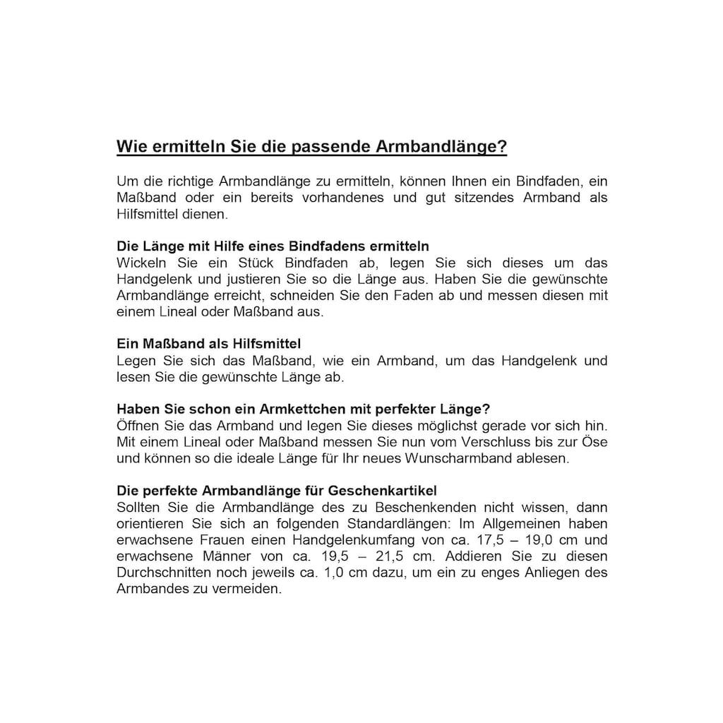 Firetti Edelstahlarmband »massiv, glänzend, ca. 6,5 mm breit«