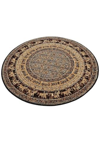 my home Teppich »Karavane«, rund, 7 mm Höhe, Orient - Dekor, Wohnzimmer kaufen