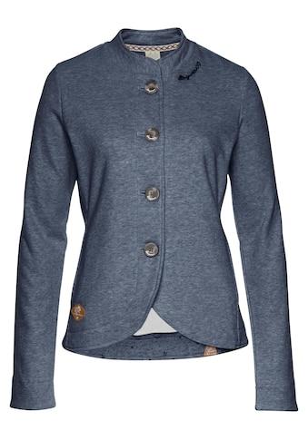 Ragwear Sweatjacke »AVALINA«, im Streetwear-Blazer-Style kaufen
