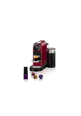Nespressomaschine, Krups, »XN7605 Citiz  Milk Rot« kaufen