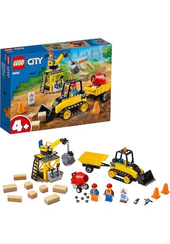 """LEGO® Konstruktionsspielsteine """"Bagger auf der Baustelle (60252), LEGO® City Great Vehicles"""", (126 - tlg.) kaufen"""
