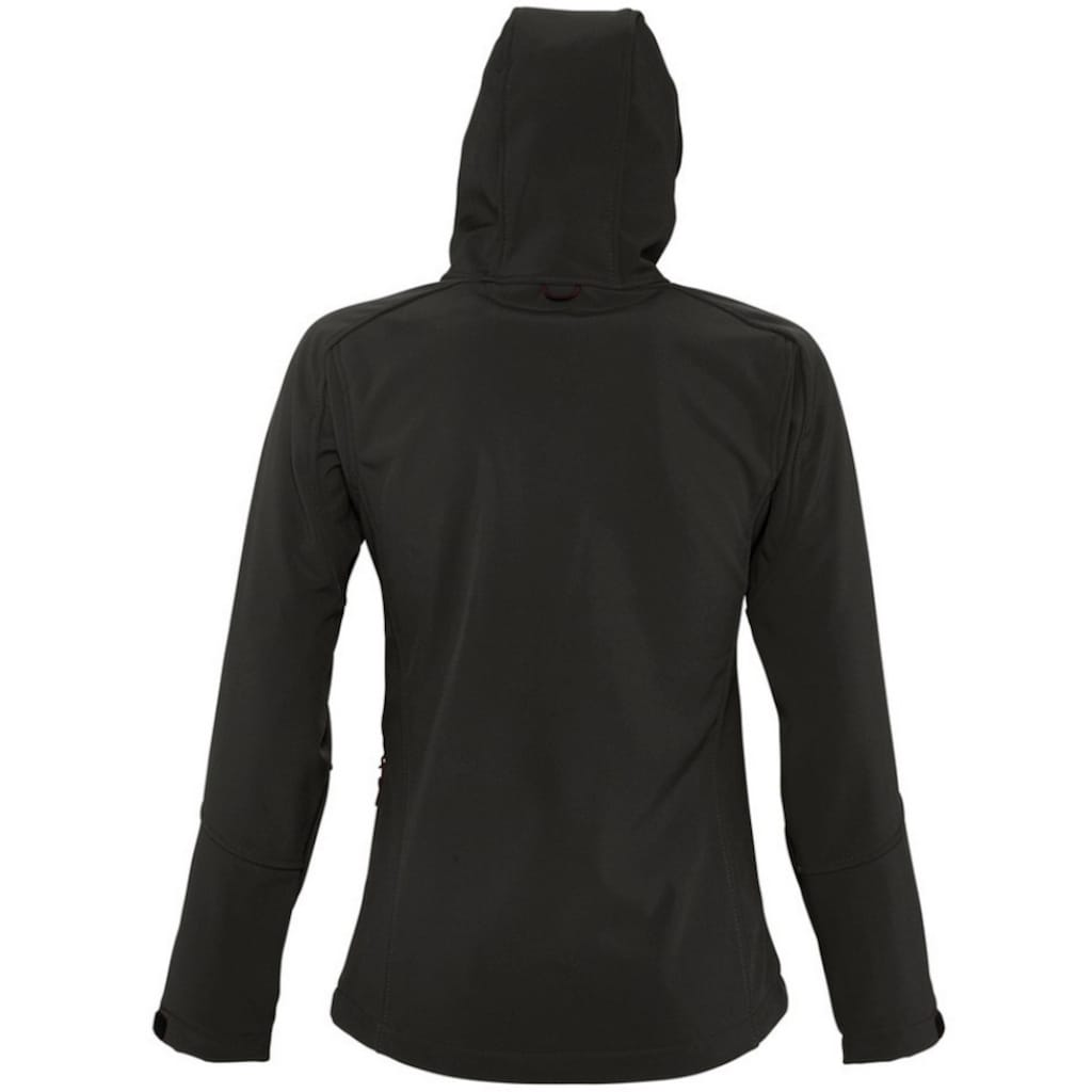 SOLS Softshelljacke »Damen Replay Softshell-Jacke mit Kapuze, atmungsaktiv, winddicht, wasserabweisend«