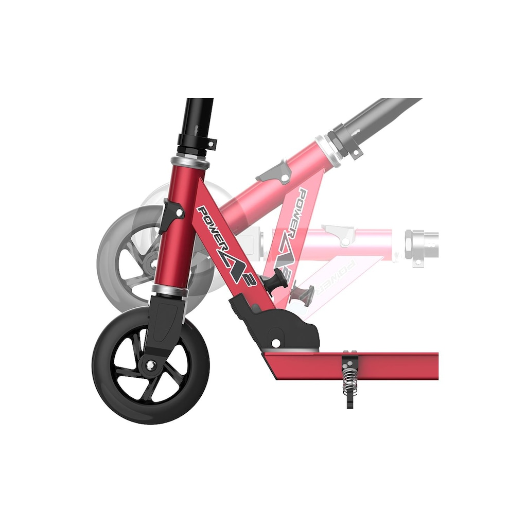 Razor E-Scooter »Power A2 Rot«
