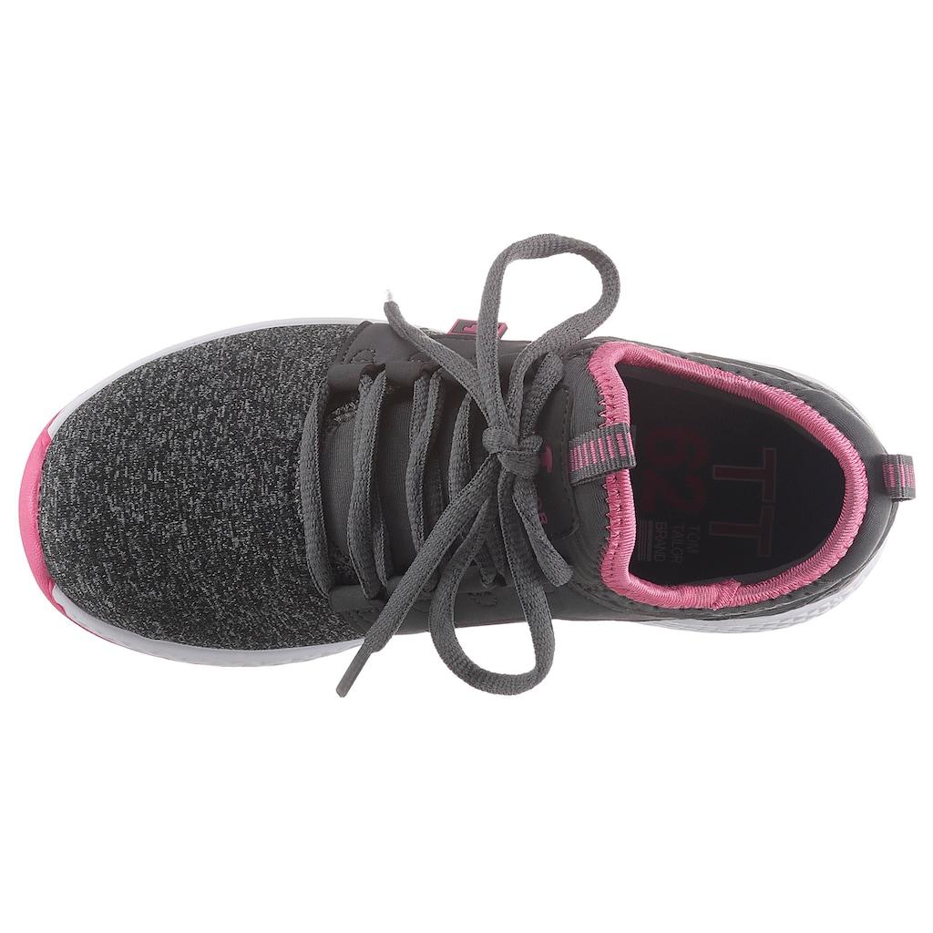 TOM TAILOR Sneaker, mit Anziehlasche