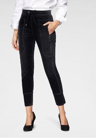 MAC Jogger Pants »Future - Velvet« kaufen