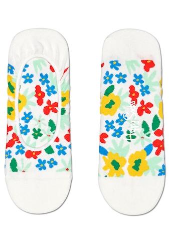 Happy Socks Füsslinge »Flower«, bunt geblühmt kaufen