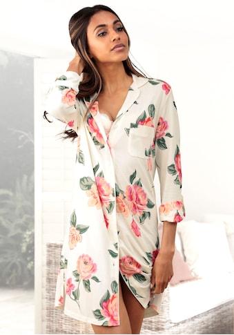 Vivance Dreams Nachthemd, in klassischer Form mit Blumenprint kaufen