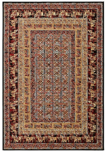 my home Teppich »Karavane«, rechteckig, 7 mm Höhe, Orient - Dekor, Wohnzimmer kaufen