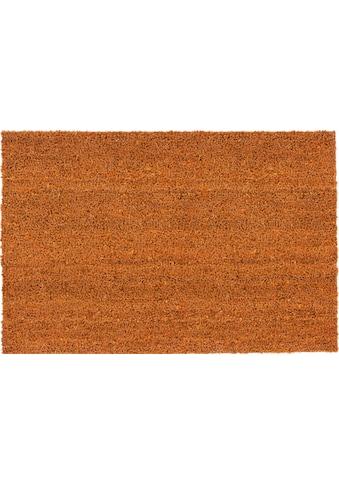 ASTRA Fussmatte »Kokosvelours 106«, rechteckig, 16 mm Höhe, Schmutzfangmatte,... kaufen