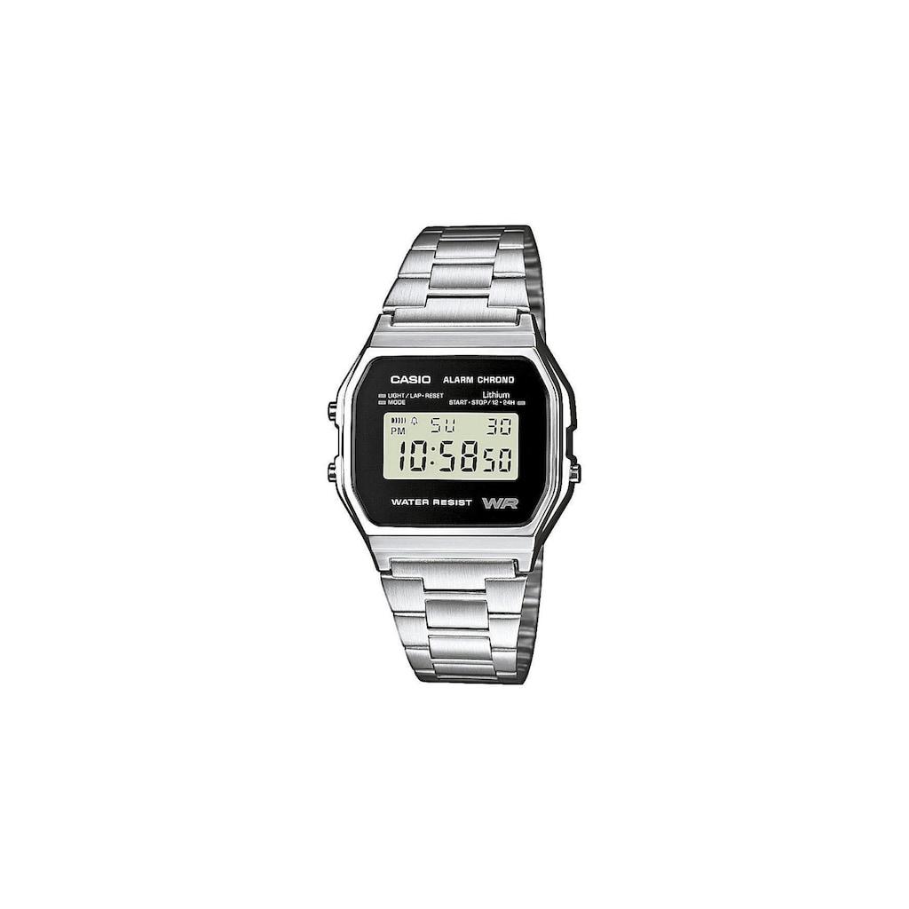 CASIO Watch »Armbanduhr A158WEA-1EF«