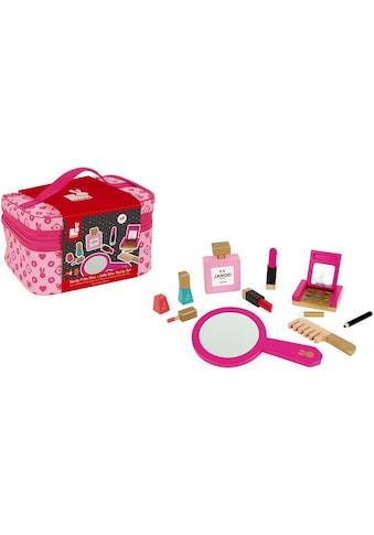 Janod Spielzeug-Frisierkoffer »Schminkköfferchen Little Miss, rosa« kaufen