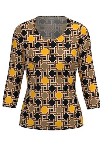 bianca 3/4-Arm-Shirt »DINI«, im angesagten Kettenprint kaufen
