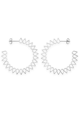 ROSEFIELD Paar Ohrstecker »Iggy Spike hoop silver, JSPHS - J064« kaufen