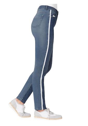 création L Jeans mit schickem Glitzerstreifen kaufen