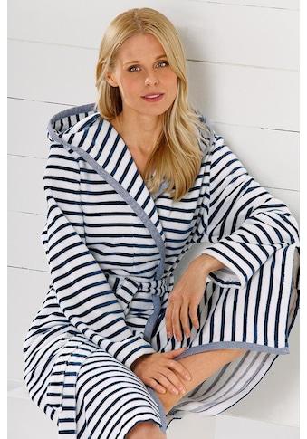 Cawö Damenbademantel »Hooge«, (1 St.), mit Streifen kaufen