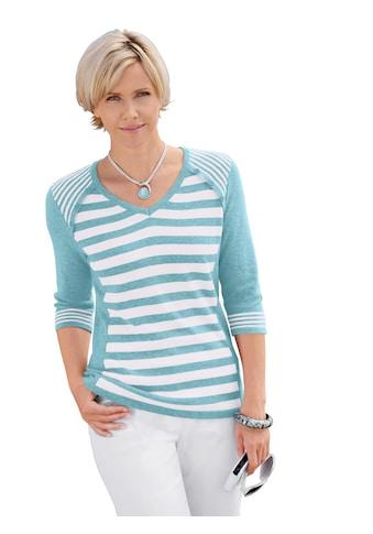 Casual Looks Pullover aus reiner Baumwolle kaufen