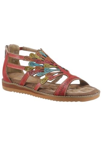 LAURA VITA Sandale »VACA«, mit Fersenreissverschluss kaufen