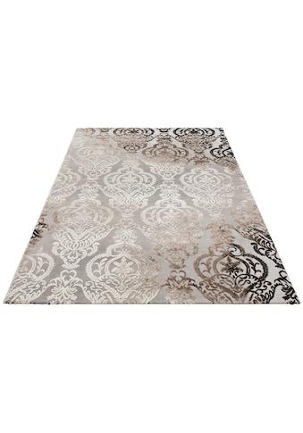 merinos Teppich »Bahar«, rechteckig, 12 mm Höhe, Vintage Design, Hoch-Tief-Struktur,... kaufen