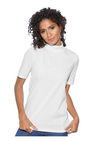 Classic Basics Shirt mit dekorativen Wiener Nähte kaufen