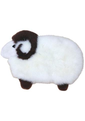 Heitmann Felle Fellteppich »Sheep«, Motivform, 40 mm Höhe, Spielteppich, Motiv Schaf,... kaufen
