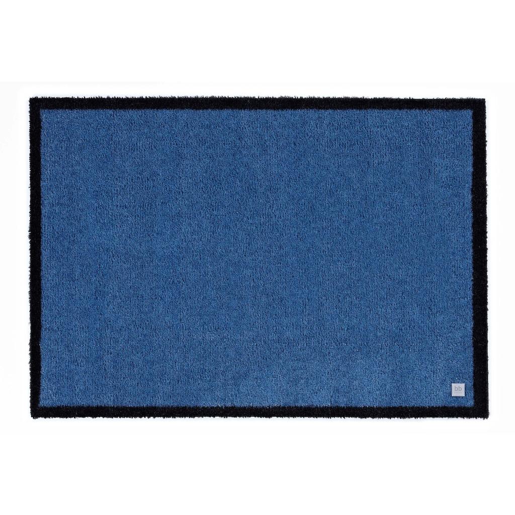Barbara Becker Fussmatte »Touch«, rechteckig, 10 mm Höhe, Fussabstreifer, Fussabtreter, Schmutzfangläufer, Schmutzfangmatte, Schmutzfangteppich, Schmutzmatte, Türmatte, Türvorleger, In- und Outdoor geeignet, waschbar