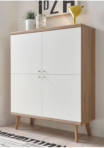 andas Highboard »Merle«, im skandinavischen Design, Breite 107 cm kaufen