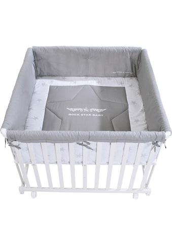 roba® Laufgitter »Rock Star Baby 2, 100x100«, bis 1 kg, mit Laufgittereinlage kaufen