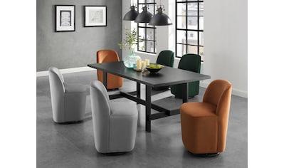 andas Esszimmerstuhl »Dianalund«, aus schönem weichen Samtvelours Bezug, in unterschiedlichen Farbvarianten, Design by Morten Georgsen kaufen