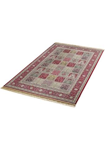 MINT RUGS Teppich »Precious«, rechteckig, 9 mm Höhe, weiche Viskose mit Fransen, Orient-Optik, Wohnzimmer kaufen