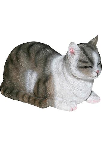 Casa Collection by Jänig Dekofigur »Katze«, grau-weiss, liegend kaufen