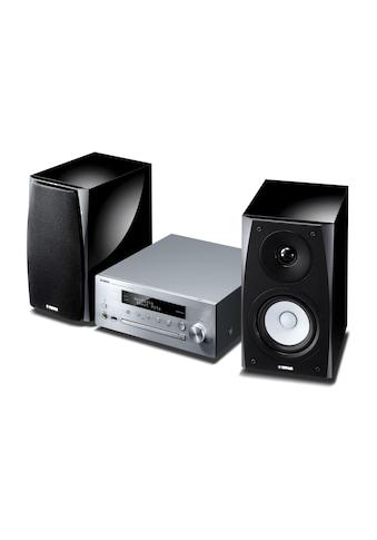 Yamaha Microanlage »MusicCast MCR-N570 DAB Schwarz Silber«, (Bluetooth-WLAN... kaufen