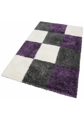 merinos Hochflor-Teppich »Denton«, rechteckig, 50 mm Höhe, Wohnzimmer kaufen