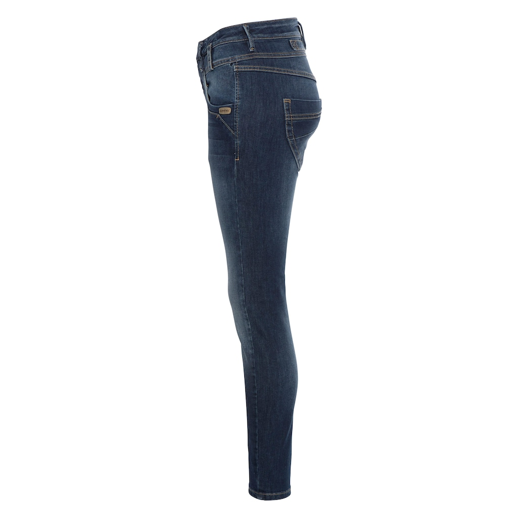 GANG Skinny-fit-Jeans »MARGE«, mit besonderem 4-Knopf-Verschluss