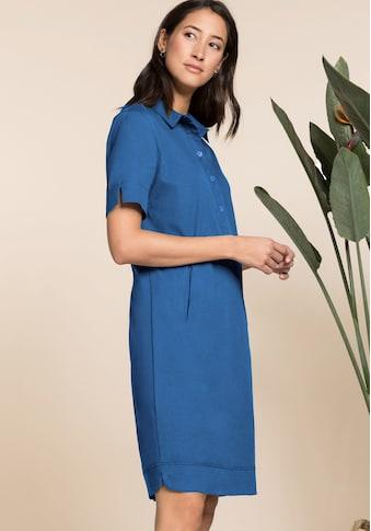 bianca Hemdblusenkleid »DORINE«, in der aktuellen Trendfarbe mit cooler Knopfleiste kaufen