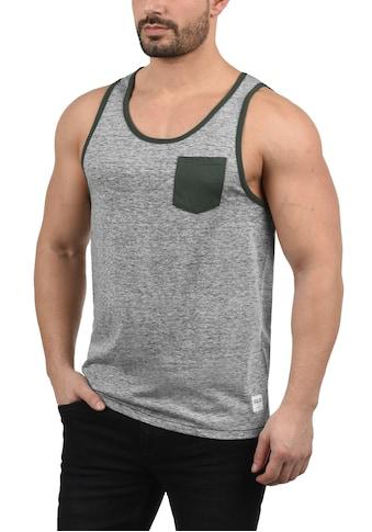 Solid Tanktop »Tell«, ärmelloses Shirt mit kontrastfarbener Brusttasche kaufen