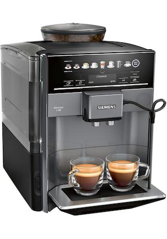 Kaffeevollautomat, Siemens, »EQ6plus S100 TE651509DE schwarz« kaufen