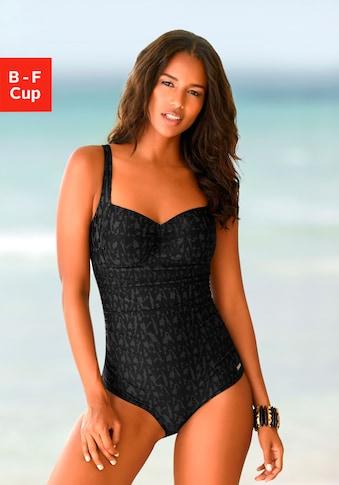 LASCANA Badeanzug, im dezenten Design mit Shaping-Effekt kaufen