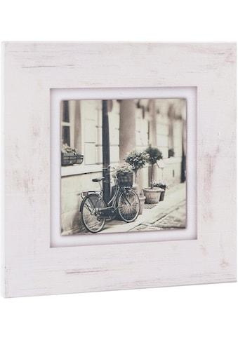 Home affaire Holzbild »Fahrrad an Hauswand« acheter