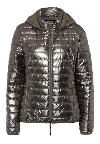 MORE&MORE Metallic Fake Down Jacket Active kaufen