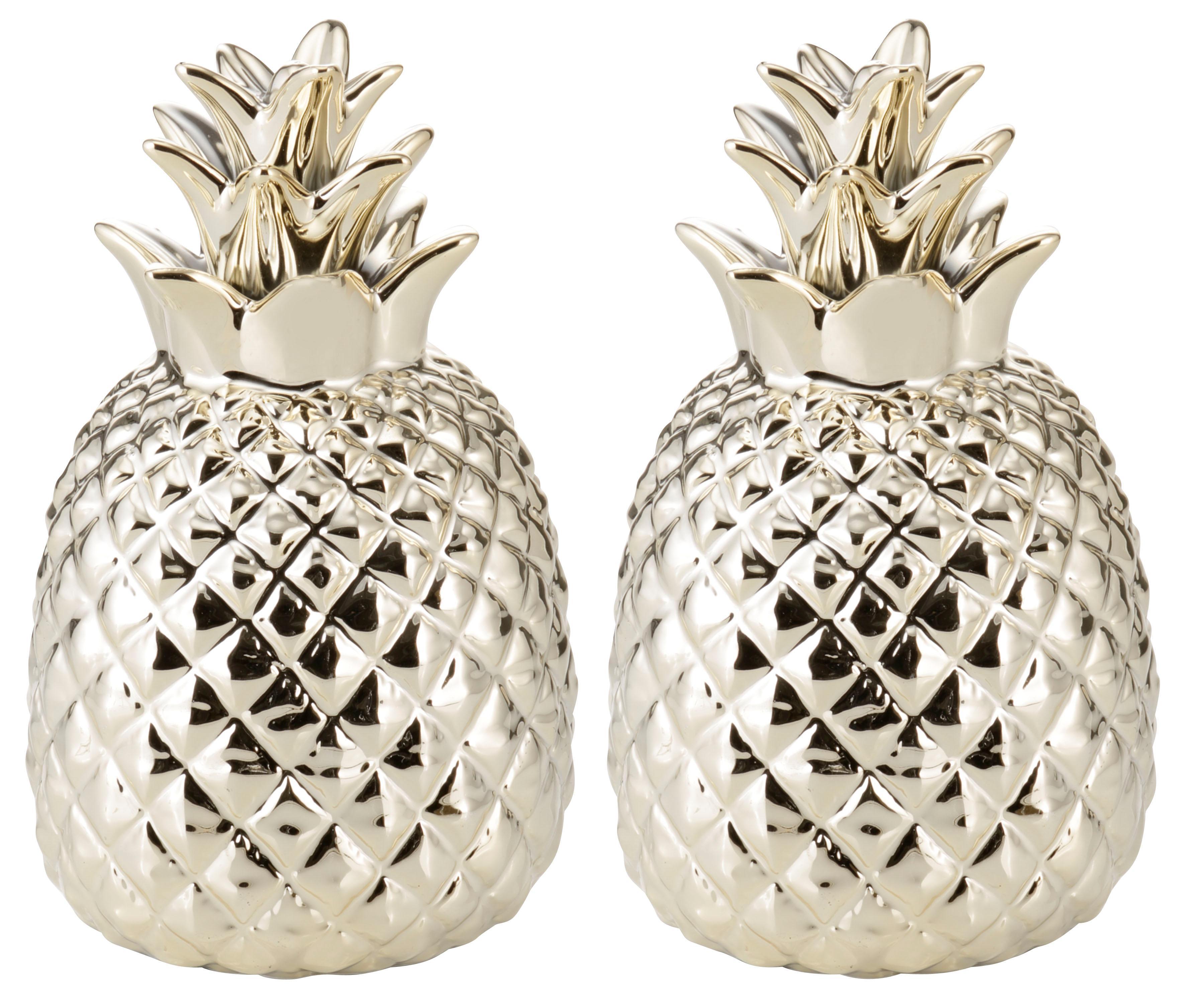 Image of Dekofigur »Ananas« (Set, 2 Stück)