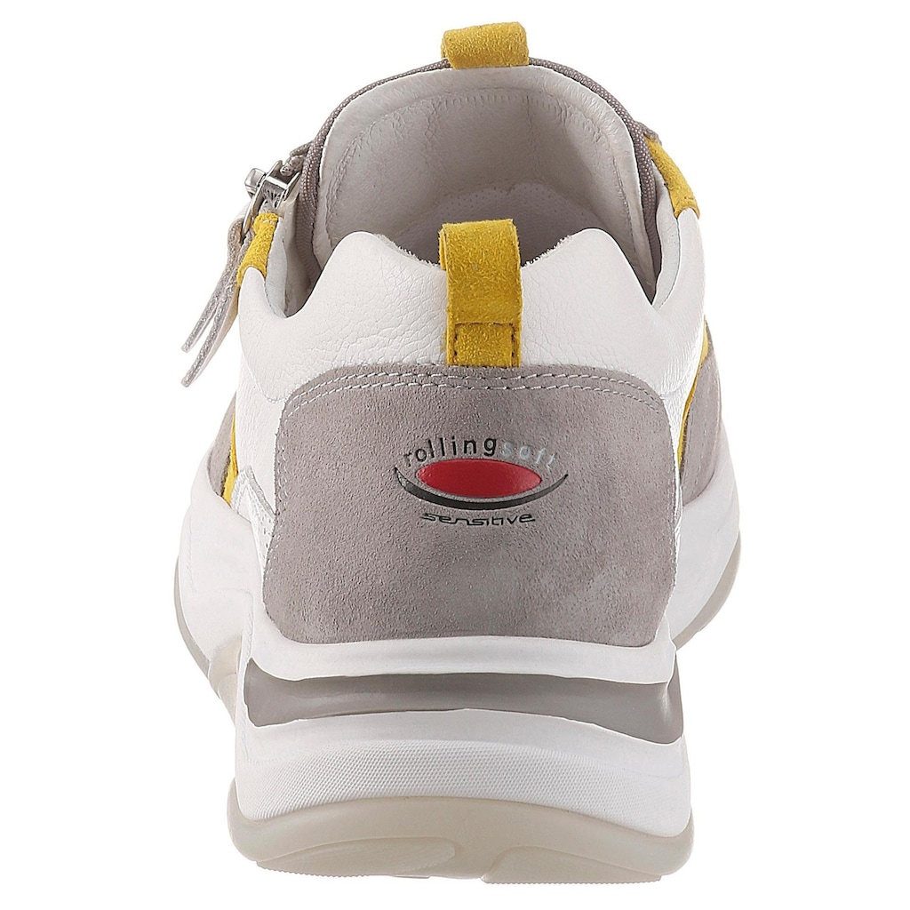 Gabor Rollingsoft Keilsneaker, mit dezentem Lochmuster