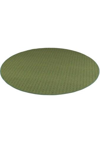 Living Line Teppich »Cambridge«, rund, 6 mm Höhe, Kurzflor, Wohnzimmer kaufen