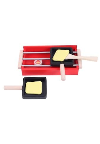 Holzspielwaren, Spielba, »Spiel - Haushaltsgerät Raclette Ofen mit Zubehör« kaufen