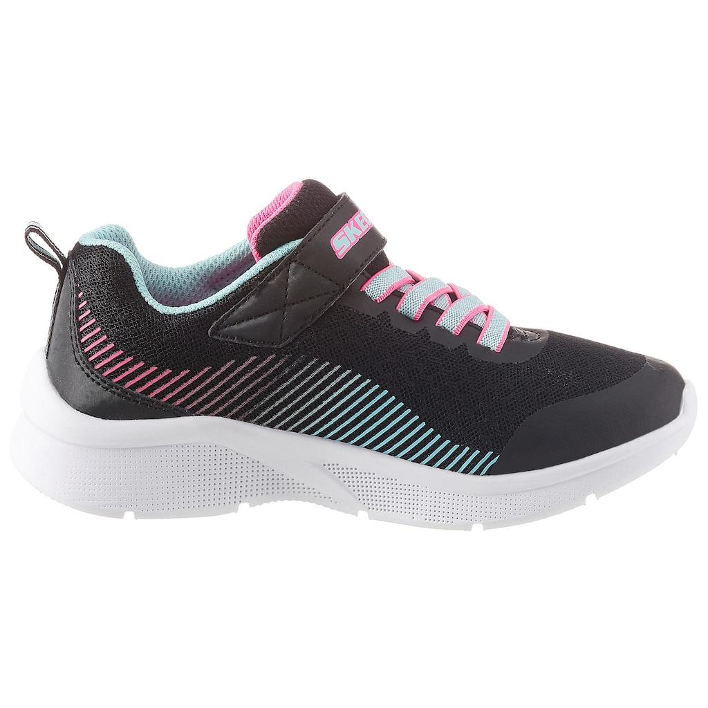 Skechers Kids Sneaker »Microspec«, mit praktischem Klettverschluss