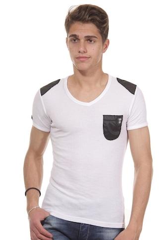 R - NEAL T - Shirt V - Ausschnitt slim fit kaufen
